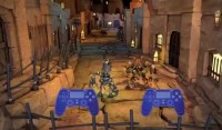 Knack Local-Multiplayer Gameplay